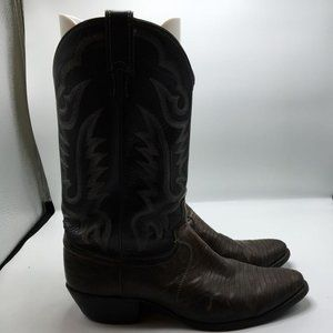 Justin Boots Men's Cowboy Western Leather 1133